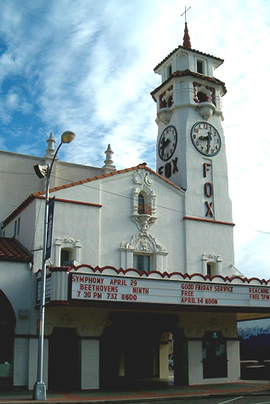 Fox Theatre in downtown Visalia